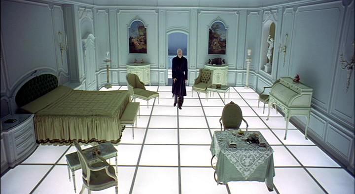 I think that room is actually a reference to 2001: ...