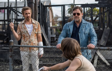 Ryan Gosling and Russell Crowe star in 'The Nice Guys', directed by Shane Black.
