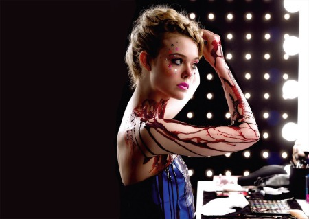 Elle Fanning stars as Jesse in 'The Neon Demon', directed by Nicolas Winding Refn.