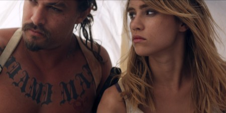 Jason Momoa and Suki Waterhouse star in 'The Bad Batch', directed by Ana Lily Amirpour.