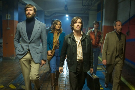 Armie Hammer, Brie Larson, Cillian Murphy  and Michael Smiley in 'Free Fire', directed by Ben Wheatley.