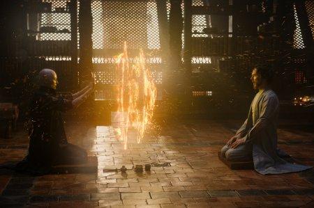 Tilda Swinton and Benedict Cumberbatch star in 'Doctor Strange', directed by Scott Derrickson.
